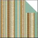 Ancestral Collection - Key Stripe 12 x 12 Double-Sided Varnish Paper