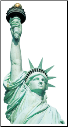 Paper House - Statue of Liberty - Blank Card