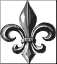 Family Matters - Cling Mounted Rubber Stamps - Fleur de Lis