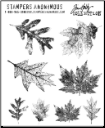 Tim Holtz - Falling Leaves - Cling Mounted Rubber Stamps