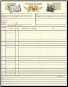 "Family - 8.5"" X 11"" - Census Chart"